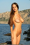 Beautiful nude girls posed in nature
